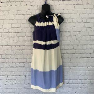 NWT Banana Republic 100% Silk Dress With Bow
